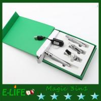 Quality black electronic cigarette magic 3 in 1 6 colors option dry herb vaporizer pen for sale