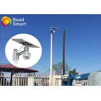 Quality 160lm/W Integrated Solar Powered Parking Lot Lights 3000K-6500K CCT for sale