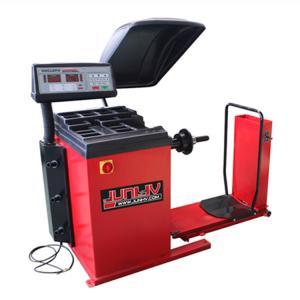 Quality 220v Truck Wheel Balancer 1200mm Max Wheel 0.55kw Motor Power ALU Program for sale
