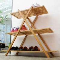 Quality China Bamboo Shoes Storage Rack for Living Room, Dining Room, Bedding Room, for sale