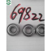 China high quality iron seal deep groove ball bearing 698zz wholesale