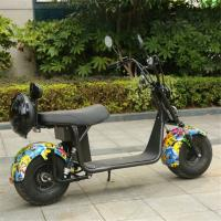 Quality Sun Shine 2 wheel scooter electric fashion design electric scooter citycoco 2019 hot sale for sale