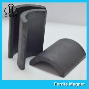 Quality Y30BH C5 C8 Grade Ferrite Arc Magnet For BLDC Ceiling Fan Motor Eco Friendly for sale