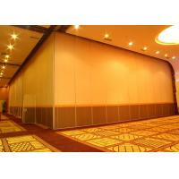Quality Office Hanging Sliding Door , 65mm Panel Operable Wall For Banquet Wedding Facility for sale