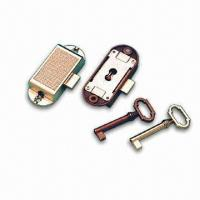 Quality Rotating Bar Lock with Simple Key, Made of Zinc-alloy for sale