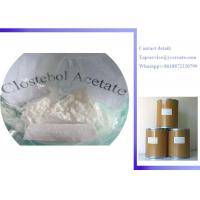 Quality Raw Steroid Powders 4-Chlorotestosterone Acetate Clostebol Acetate Turinabol CAS:855-19-6 for sale