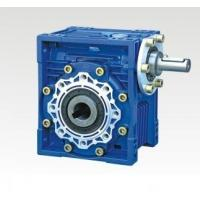 Quality NMRV center distance 110 flange input ratio 25:1 single reduction worm gear reducer for sale
