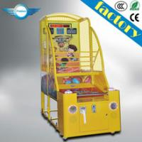 Buy cheap Coin operated electronic basketball game/basketball game machine/kid basketball from wholesalers