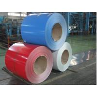 Quality Glossy Color Coated Prepainted Steel Coil , Galvanized Steel Coil For Roof / Wallboards for sale