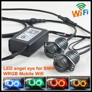 Quality Wifi control RGBW LED angel eyes marker headlight for BMW E92 E60 E39 E90 E91 E70 for sale