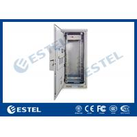 Outdoor Rack Mount Enclosure Street Cabinets Telecoms For Transmission Switching Station