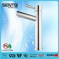Sento new design stainless steel bathroom basin faucet patented faucet