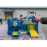 Quality Sealife Inflatable Combo Bouncy Castle With Slide For Kids Inflatable Playground Party Time for sale