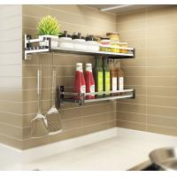 Quality Simple Houseware Wall Mounted Kitchen Rack Innovative Design For Heavy Loads for sale