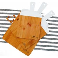 China 3 Piece 100% Organic Bamboo Cutting Board Set   Pizza Tray   Lightweight   Serve Cheese, Bread   Prep Veggies and Meats on sale