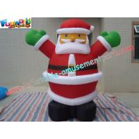 China OEM Santa Inflatable Christmas Decorations 2 Meter For Home on sale