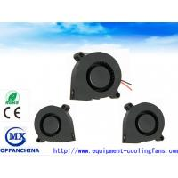Buy 51mm Sleeve Bearing  DC Blower Fan / 5v 12v 24v DC Centrifugal Fan With Lead Wire at wholesale prices