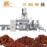 Quality Multi-functional dry Cat food making machine dog cat pet food processing line for sale