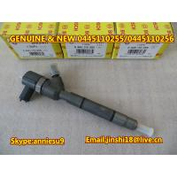 Quality Bosch Genuine & New Common Rail Injector 0445110255 0445110256 for HYUNDAI 33800-2A400 for sale