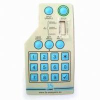 SGS PC Quakeproof Keyboard Membrane Switch For GPS , Tactile Membrane Switch