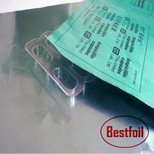 Quality Aluminium folis for pharma packing / Alu foil lid for pharmaceutical use for sale