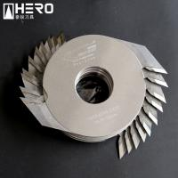 Quality Hard Chrome Coated Finger Joint Cutter , Finger Joint Table Saw Longer Working Life for sale