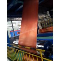 China Glossy Surface Color Coated Aluminum Coil Abrasion Resistance High Flexibility on sale