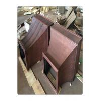 Quality Smooth Surface Copper Cooker Hood , Custom Copper Range Hoods For Gas Stoves for sale