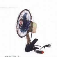 Buy cheap 6-inch Car Fan with 12/24V DC Voltage from wholesalers
