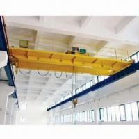 China Bridge Crane with Single/Double Speed, Pendant/Cabin Control, 3 to 63MT Capacity, 10.5 to 35.5m Span on sale