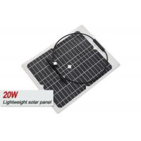 ETFE Film Sungold 20 Watt Monocrystalline Solar Panel With IP67 Junction Box