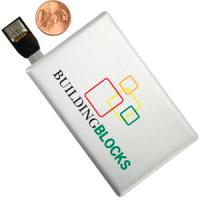 China credit card USB drives with your company logo & info with 512mb 1g 2g 4g 8g 16g on sale