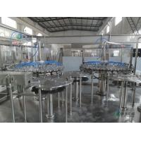 Quality 50HZ / 3 PHASE Carbonated Drink Filling Machine For 500ml Sparkling Water for sale