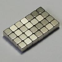 Quality N35 Zn coating block sintered permanent neodymium magnet for loudspeakers for sale
