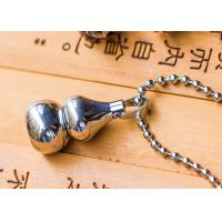 Cucurbit Pendant Antique Buddhist Jewelry Chinese Style Stainless Steel Material