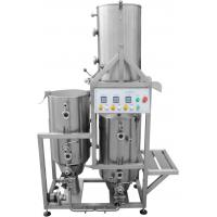 China AISI 316 Home Microbrewery Equipment , Three Tanks Gas Heated 50HL / 50L Brewhouse on sale
