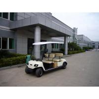 China Electric four seater golf carts, color optional on sale