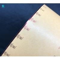 Quality Eco - Friendly Cork Tipping Paper With Hotfoil Stamping For Cigarette Packaging With Brand Authorization for sale