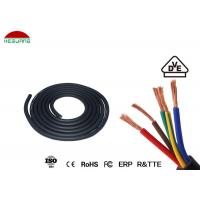 Quality Swimming Pool Light Assembly 5×0.5mm² IP68 Waterproof Five Core Rubber Cable for sale