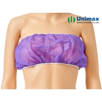 Quality Unimax Medical Breathable Disposable Bra With Ties for sale