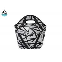Quality Colorful Waterproof Personalized Neoprene Lunch Tote Eco - Friendly Bag For Women for sale
