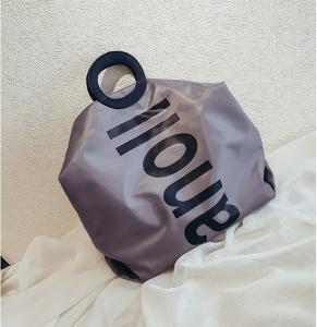 Quality Summer small fresh letterpress nylon bag messenger bag can hand bill of lading shoulder bag for sale