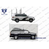 Buy cheap 1500M Drone Radio Frequency Jammer , 2.4 Ghz Jammer For Drones Stable Operation from wholesalers