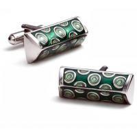 Quality Black & White Iron Funny Cufflinks Box Wholesale for sale