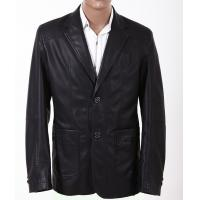Quality Size 50, Black / Yellow / Dark Red, Classic and Fashionable Mens Leather Suits for sale