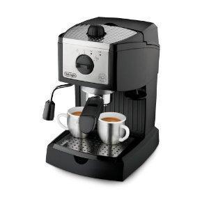Quality De'Longhi EC155 15 BAR Pump Espresso and Cappuccino Maker for sale
