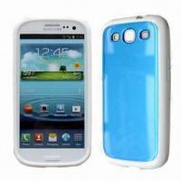Quality Mobile Phone Case for Samsung S3/i9300, Made of TPU and PC, Many Color Combinations Available for sale