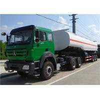 Quality Beibei / HOWO Tractor Truck + 3 axle 42000L 45000 L 50000 L Oil Tanker / Fuel Tank Truck Trailer for sale