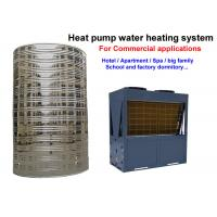 Quality Non Pressurized Commercial Heat Pump Water Heater , Air Conditioner Water Heater for sale