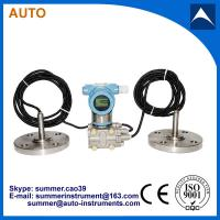 Double Flang connection Differential Pressure Level Transmitter with Remote Diaphragm Seal